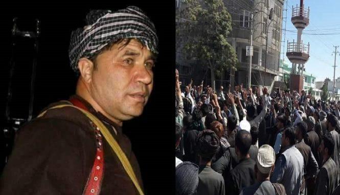 راهپیمایی حامیان نظام الدین قیصاری به خشونت کشانیده شد