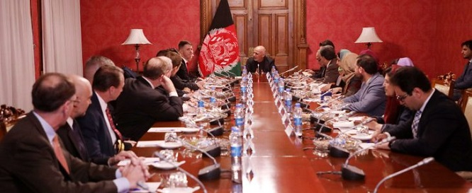 President Ghani met with the delegation of US House of Representatives