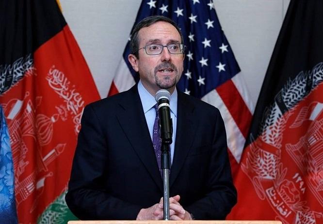 ادعای مضحک سفیر امریکا درباره مذاکرات صلح افغانستان