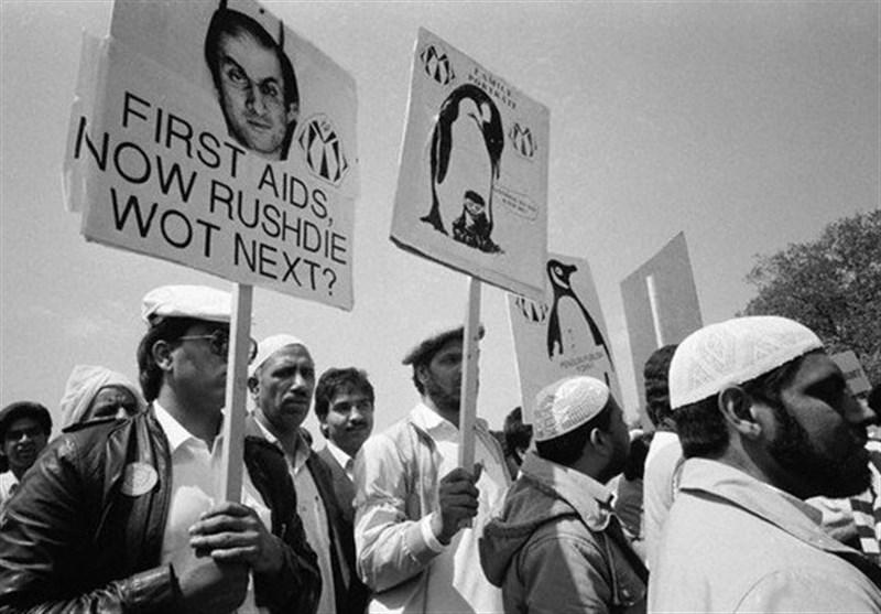 سلمان رشدی سرباری پرخرج برای مالیاتدهندگان انگلیسی