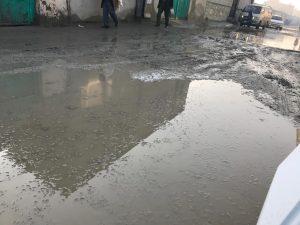 دهها تن به دلیل عدم توجه شهرداری کابل در ناحیۀ دهم دست به تظاهرات زدند