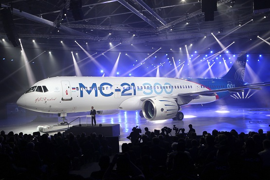 Russia's МС-21 Jet to Rival Airbus, Boeing
