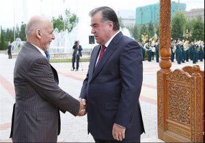 رییس جمهور غنی همتای تاجیکستانی اش را به دیدار افغانستان دعوت کرد