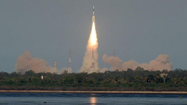 هند ماهوارهای را برای ارائه خدمات به افغانستان و جنوب آسیا به فضا پرتاب کرد