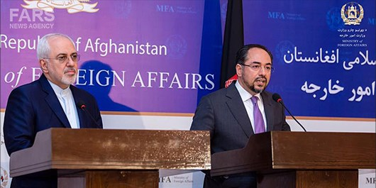 ظریف در کابل: تروریسم خوب و بد ندارد