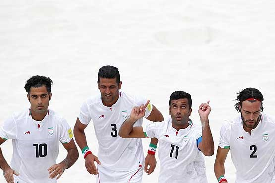 ایران به مقام سوم فوتبال ساحلی جهان دست یافت