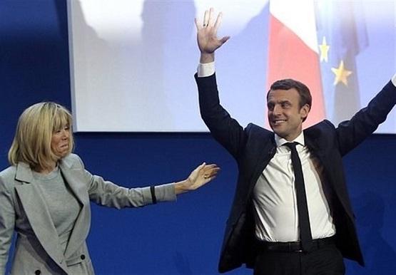 ماکرون رسما رئیس جمهور فرانسه شد