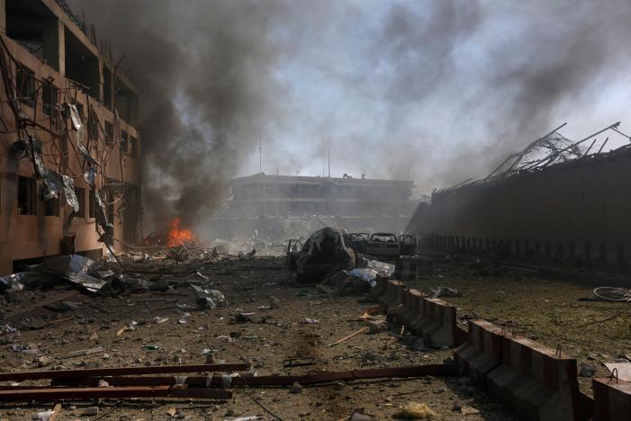 آلبوم عکس: انفجار مرگبار در کابل/بخش دوم