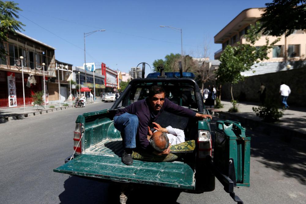 گزارش تصویری از انفجار امروز در کابل - بخش سومـ