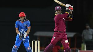 Afghanistan loses the third and final T20I match to West Indies