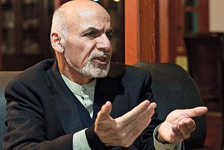 Ghani Warns Countries Against Fueling The War