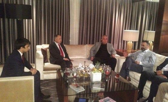 Ata Mohammad Noor, Mohaqiq, and Gen. Dostum meet in Turkey