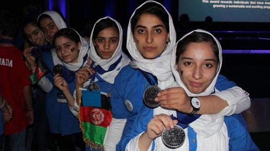 دختران روباتساز افغانستان مدال نقره گرفتند