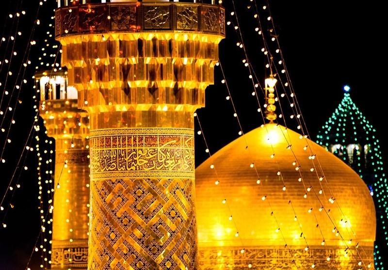 روایتی از حال و هوای مشهد در شب میلاد امام رضا(ع)؛ هرکس اینجا بهامید نفسی میآید+تصاویر