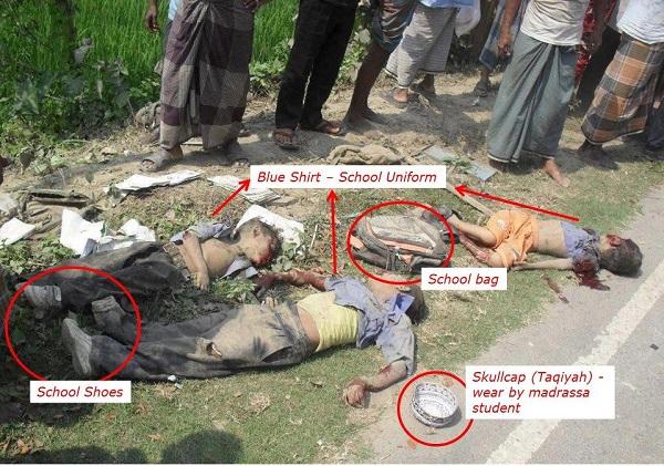 کشته شدن بیش از 3 هزار مسلمان در میانمار در طول دو هفته