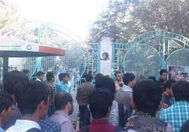 تعطیلی دانشگاه کابل در اعتراض به کشتار مسلمانان میانمار