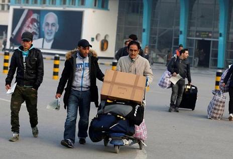 اخراج اجباری پناهجویان افغانستانی از آلمان از سر گرفته شد