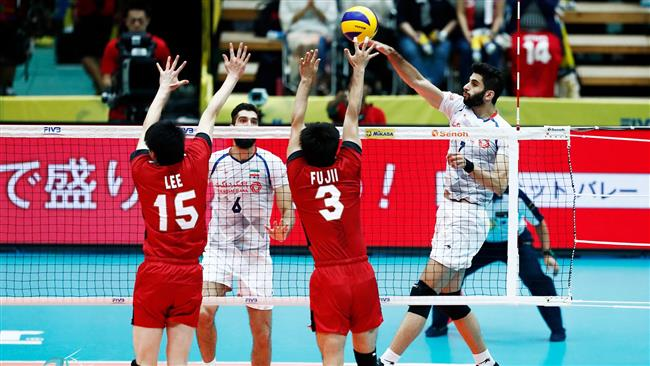 Iran overcomes Japan in FIVB Volleyball World Grand Champions Cup