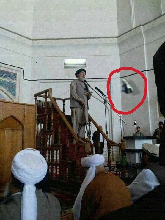 Non Muslim Perspective On The Revolution Of Imam Hussain: Man Throws Shoe At Hekmatyar In Herat Mosque+Video