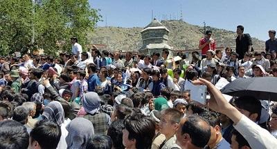تظاهرات ضد امریکایی در کابل