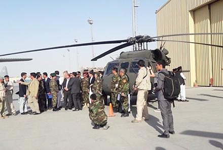 Taliban reacts in panic as Black Hawk helicopters handed over to the Afghan forces