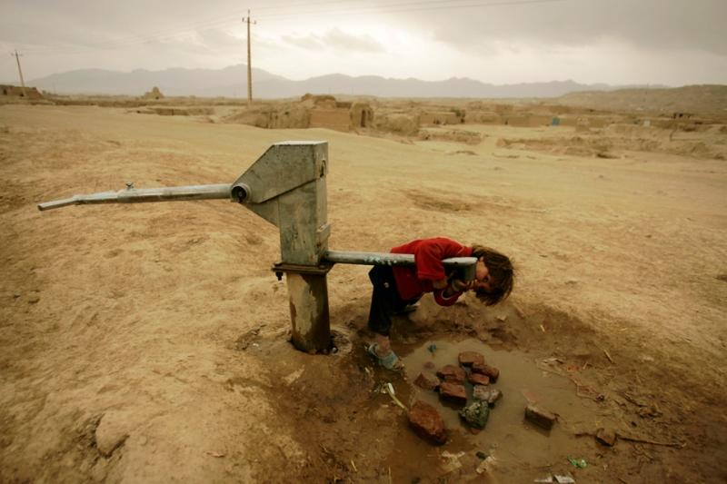 تنها 30 درصد از شهروندان افغانستان به آب آشامیدنی دسترسی دارند