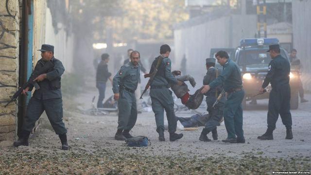 حمله انتحاری در پایتخت افغانستان با 27 کشته و زخمی