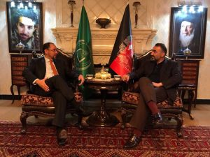 Noor hold talks with top political figures in Kabul regarding new political coalition