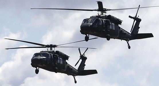 امریکا رهبران داعش را توسط چرخبال از دیرالزور خارج می کند
