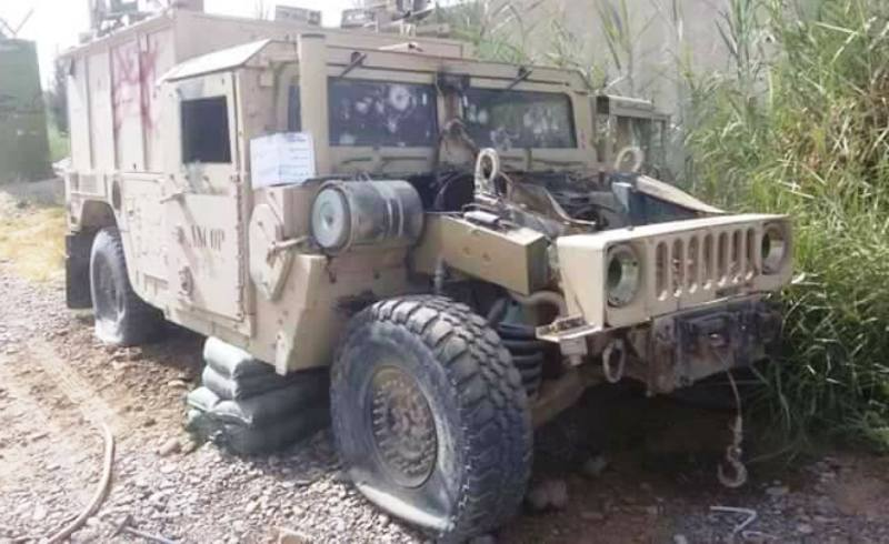 Suicide bomber and Humvee laden with explosives eliminate in Helmand