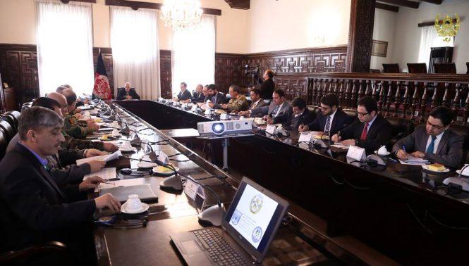 اشرف غنی پلان امنیتی شهر کابل را در اصول مورد تایید قرار داد