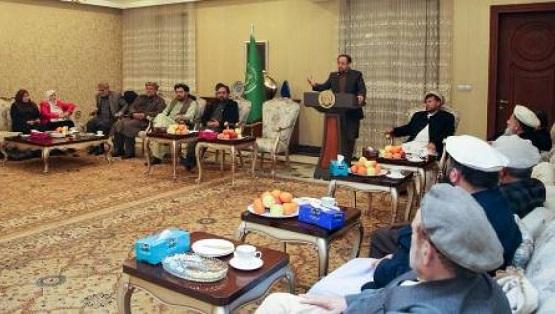 احمدضیا مسعود: یک گروه عقب مانده سرنوشت سیاسی ملت را به دست گرفته است
