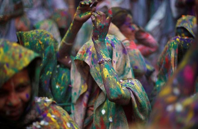 جشنواره هولی در هند به روایت تصویر
