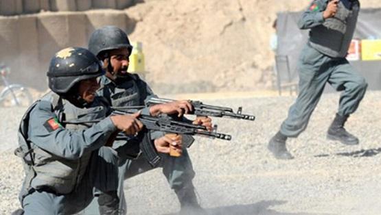 درگیری پلیس ملی و محلی در ارزگان