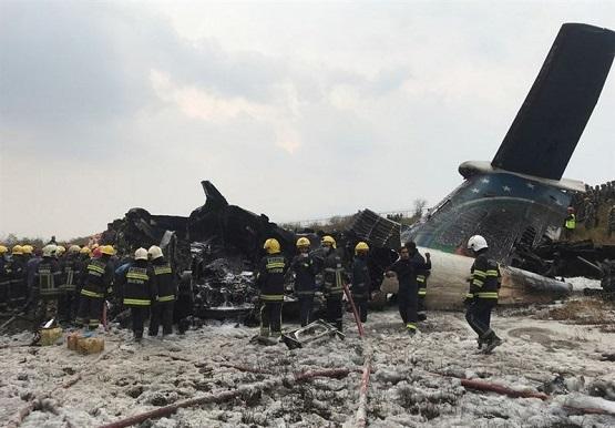 سقوط هواپیمای مسافربری بنگلادش با ۷۱ سرنشین