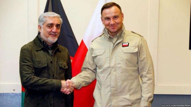 سفر رییس جمهور لهستان به افغانستان